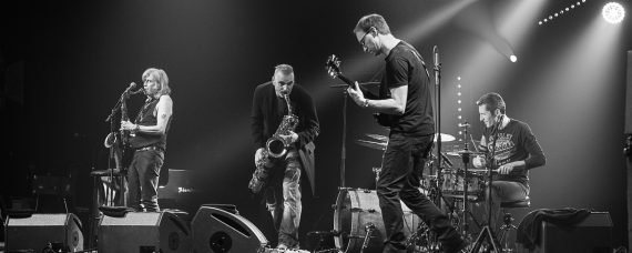 Le groupe Bunktilt avec Steve Mackay © Christophe Charpenel