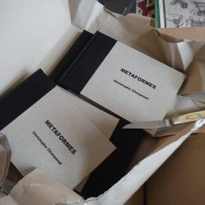 Christophe Charpenel signe les photos du livre Metaformes